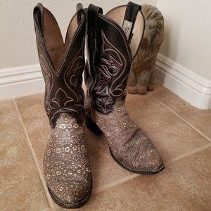 Olathe Boot Company Snakeskin Boots